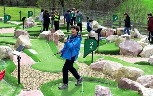 Minigolf Profesional, Piscifactoría, Comida Casera