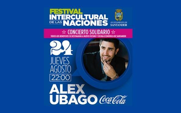 Entradas para Alex Ubago en el Festival de las Naciones