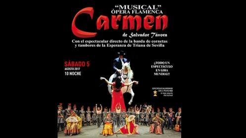 "Entradas VIP para el ""Musical"" Opera Flamenca Carmen de Salvador Távora"