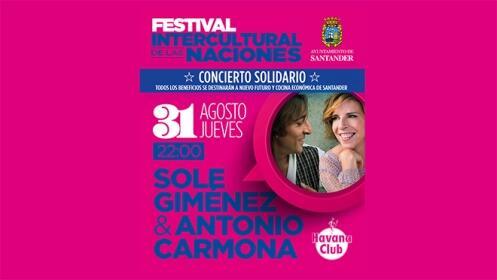 Entradas para Carmona y Sole Giménez en el Festival de las Naciones