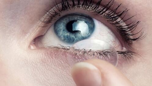12 lentes de contacto de reemplazo mensual