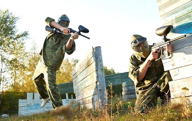 2h. de partida Láser Combat + Reportaje fotográfico