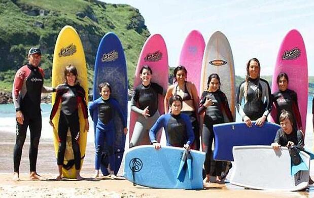 Pasa un fin de semana de olas y surf