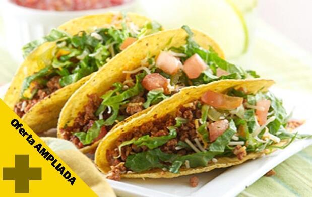 Festival de taquitos mexicanos