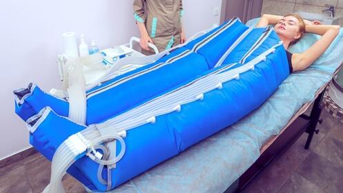 6 o 10 sesiones de presoterapia