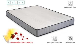 Colchón visco elástico ProSalud BeZen con tejido antibacteriano