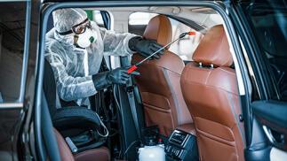 Desinfección integral de su vehículo con Ozono contra bacterias y virus con opción a limpieza
