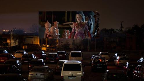 Autocine para 2 con palomitas del estreno mundial El Rey León a partir del día 19 de Julio