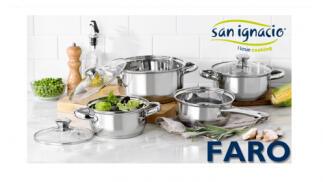 Batería de cocina 7 piezas San Ignacio