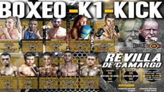 Entradas para boxeo, en Revilla de Camargo, el 23 de noviembre desde 9.9€