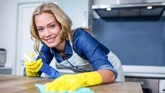 Limpieza de cocina completa a domicilio
