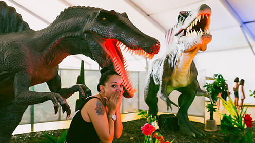 Entradas Dinosaurs Tour del 28 de septiembre al 6 de octubre en El Sardinero