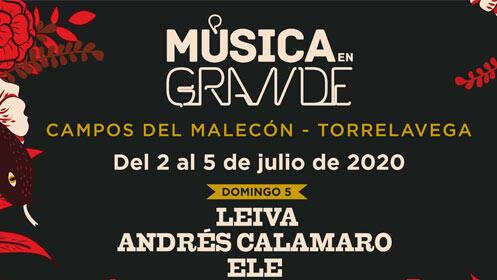 Entradas VIP Música en Grande. Rulo y La Contrabanda + Andrés Suárez por 49€
