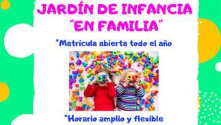 1 mes de Jardín de Infancia para los pequeños de la casa