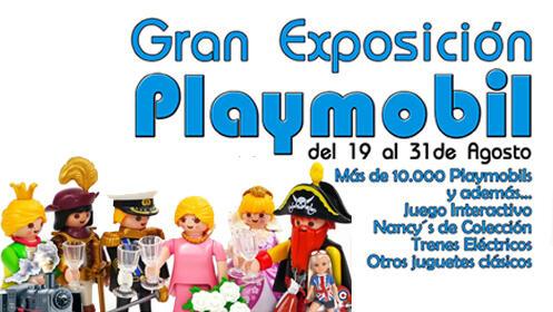 Entrada para la Gran Exposición Playmobil en Santander del 19 al 31 de agosto