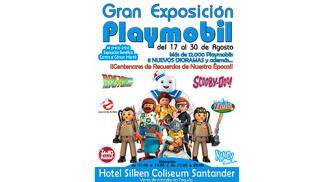 Entrada para la Gran Exposición Playmobil en Santander del 17 al 30 de agosto