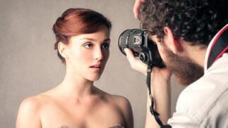 Reportaje fotográfico en estudio profesional