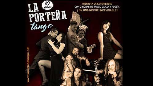 Entradas LA PORTEÑA TANGO en el Teatro Salesianos en Santander por 8.4€