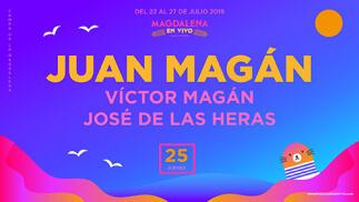 Entradas para Juan Magán + Víctor Magán + José de las Heras por 9.5€