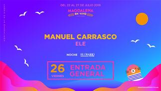Entradas para Manuel Carrasco en Oferplan por ¡13.9€!