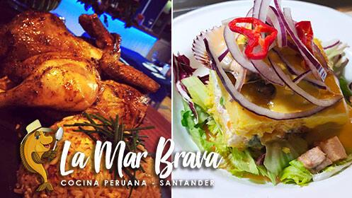 Menú degustación con sabores del Perú Mar y Tierra