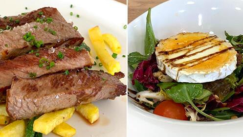 Menú de 5 platos en Restaurante Golf Mataleñas por 18,9€