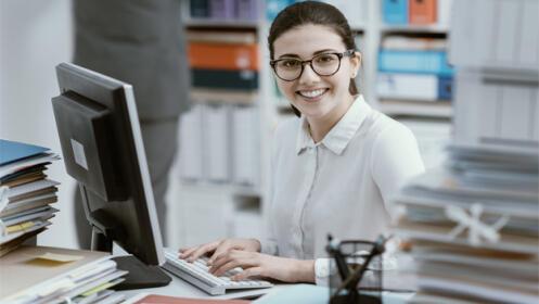 Pack de 2 cursos: Inglés para Secretarias/os + Prácticas de Oficina