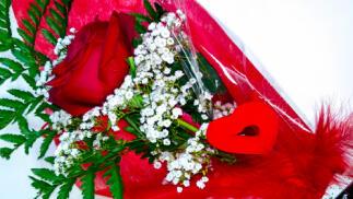 Regala rosas por San Valentín