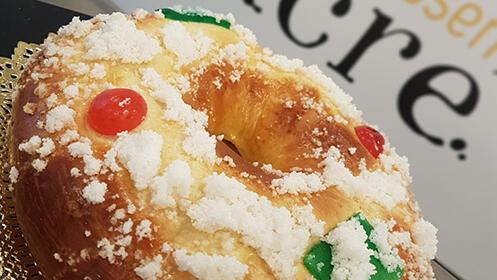 Roscón de Reyes artesanal de hasta 750 gr