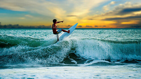 2 ó 3 horas de SUP o curso de surf de 2 horas para 1, 2 ó 4 personas