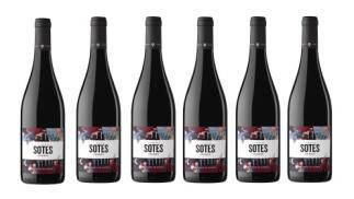 6 botellas Señorío de Sarría Crianza Viñedo Sotés D.O. Navarra