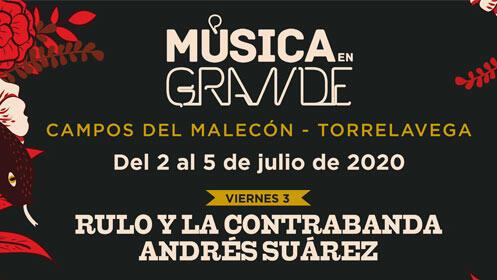 Entradas VIP Música en Grande. Leiva + Andrés Calamaro + Ele por 49€