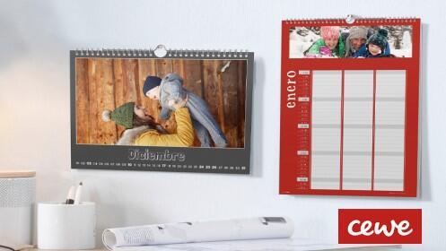 Calendario personalizado pared A4