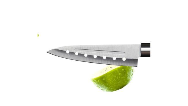Set de 4 cuchillos japoneses Santoku