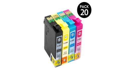 Pack 10 o 20 cartuchos compatibles EPSON