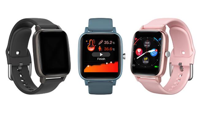 Smartwatch Thermo Care Advance con medición de temperatura