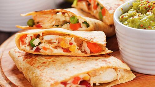 Exclusivo menú mexicano