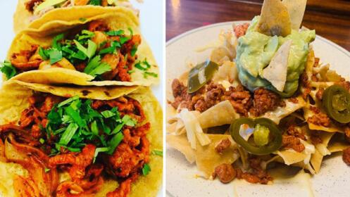 PARA RECOGER. Menú mexicano en Mr. Uchu