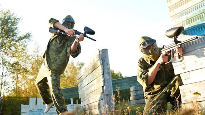 1h y 30 min. de Láser Combat + Reportaje fotográfico