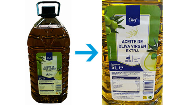 Pack de 2 o 3 botellas de Aceite de Oliva Virgen Extra de 5L