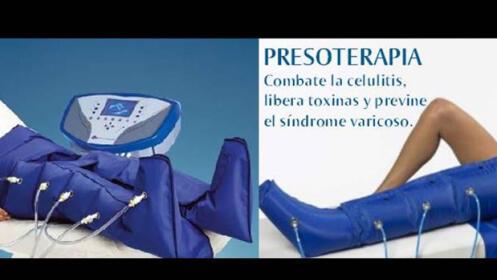 6 ó 10 sesiones de presoterapia desde 24€