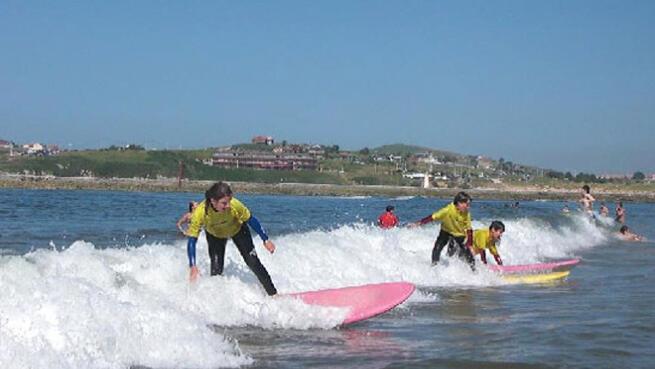 Día de surf para una o dos personas en Suances