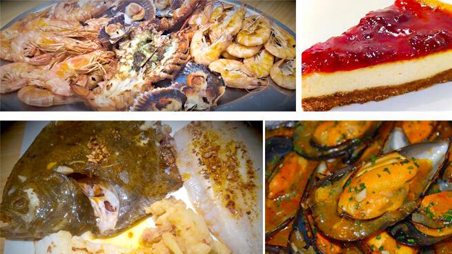 Parrillada de pescado y marisco en Restaurante El Parque de Laredo