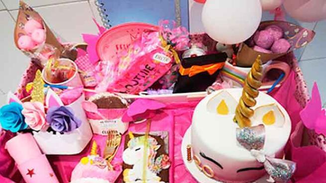 Caja Ilusión o Tarta Barbie por 15€
